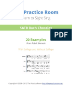 The Practice Room Bach Chorales