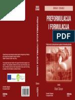 Korice Knjige Preformulacija i Formulacija Lekova