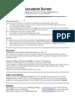 1-page CV