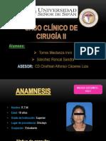 Caso Clinico. Mia Cele