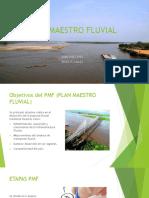 Plan Maestro Fluvial