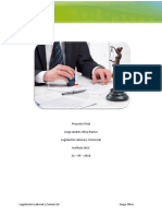 Proyecto Final Legislación Laboral y Comercial
