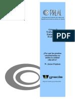 Por qué las pruebas estandarizadas no miden la calidad educativa.pdf
