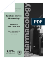16.1.6 - Sport and Exercise Pharmacology