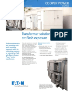 Transformer Arc Flash Exposure Reduction - PA202004EN