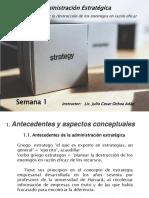 Administracion Estrategica SEMANA 1