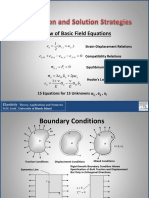 Formulation and Solution Strategies