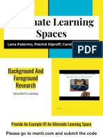 alternate learning spaces week 8 adobe