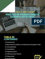 Analisis de Paginas Web de Cadenas Hoteleras