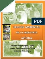 Gestión Ambiental en La Industria Avícola