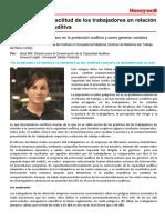 Como Mejorar La Actitud de Los Trabajadores en Relacion a La Proteccion Auditiva