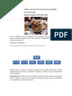 Aporte Segunda Entrega Salud Ocupacional en Colombia