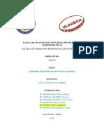 CAPÍTULO II - Géneros Científicos
