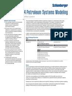 Petromod 2014 Petroleum Systems Modeling