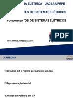 Componentes de Sistemas Elétricos - Aula 03