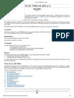 Las Xii Tablas Resumen