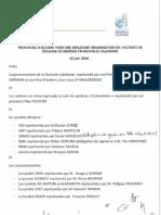 Protocole d'accord sur le roulage de minerai
