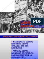 Aula Direito Coletivo II - Liberdade Sindical
