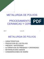 Powder Met & Ceramics