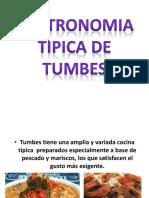 Gastronomia Tipica de Tumbes
