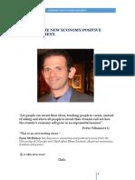 Towards the New Economy positive.