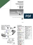 Operating Instructions for Panasonic Lumix DMC-TZ8 TZ9 TZ10 (English)