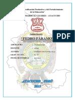 Analisis de Pedro Paramo