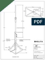 HELITA Support Mast Model (Flat Roof )