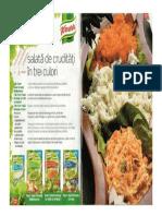 Salata de Cruditati in Trei Culori