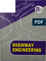 Highway Engineering by S.K.khanna and JUSTO