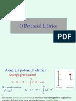 Aula4-5 Potencial Elétrico