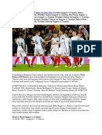 Prediksi Skor Inggris vs Tunisia Piala Dunia 2018 Russia