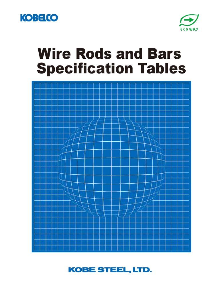 Wirerod Standard | Alloy | Steel