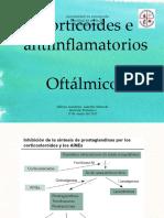 Corticoides y Antiinflamatorios oftalmicos