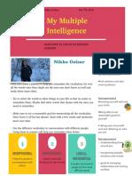 multiple intelligence nikka golzar
