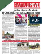 Informatia Lipovei - nr 93 - iunie 2018