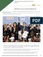 Iván Duque gana sólidamente y es el nuevo presidente de Colombia - Diario Financiero