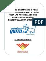Pma Pasteurizadora Quito