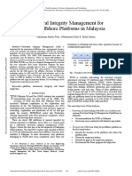 Structural Integrity Management for Fixed Offshore Platforms in Malaysia