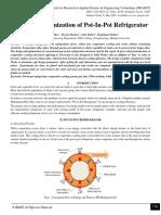 Design & Optimization of Pot-In-Pot Refrigerator