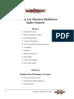 Manual de Los Maestros Hechiceros by Esteban Jos