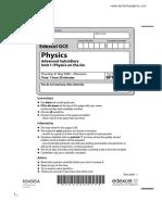 As physics may 9