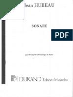 SONATE - Hubeau