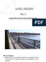 Construction Requirements- Railings