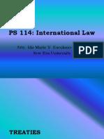 International Law - Part III