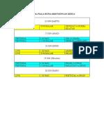 Jadual Piala Dunia 2010 Pusingan Kedua
