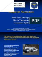 Employees Suspicious Package