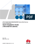 ATN 910&910I&910B&950&950B Series Quick Installation Guide (19inch&ETSI Cabinet) 02