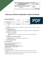 PTE 044 Executie Lucrari Camasuire La Pereti de Zidarie