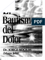 Jorge Adoum - El Bautismo Del Dolor